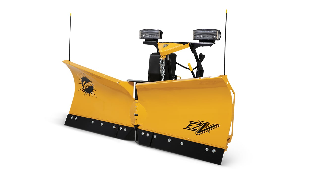 Fisher® EZ-V® - PLOW BLADE CONSTRUCTION