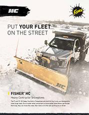 HC Heavy Contractor Snowplow Sell Sheet