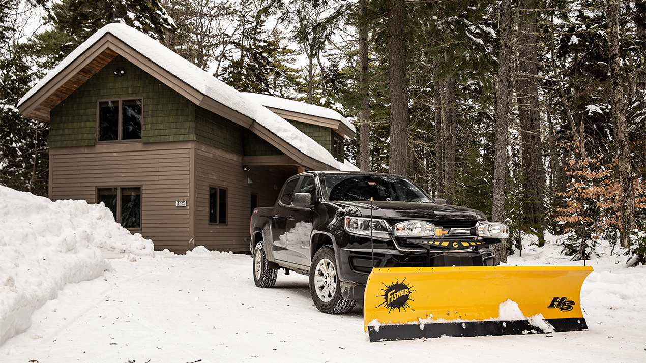 Fisher® HS - PLOW BLADE CONSTRUCTION