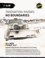 XLS Expandable Wing Snowplow Sell Sheet