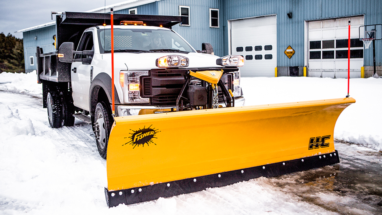 Fisher® HC - PLOW BLADE CONSTRUCTION