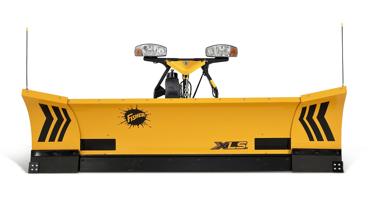 FISHER® XLS™ Expandable Wing Snowplow