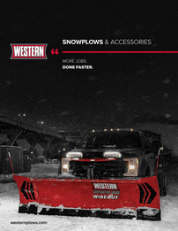 Western Snowplow Full-Line Brochure