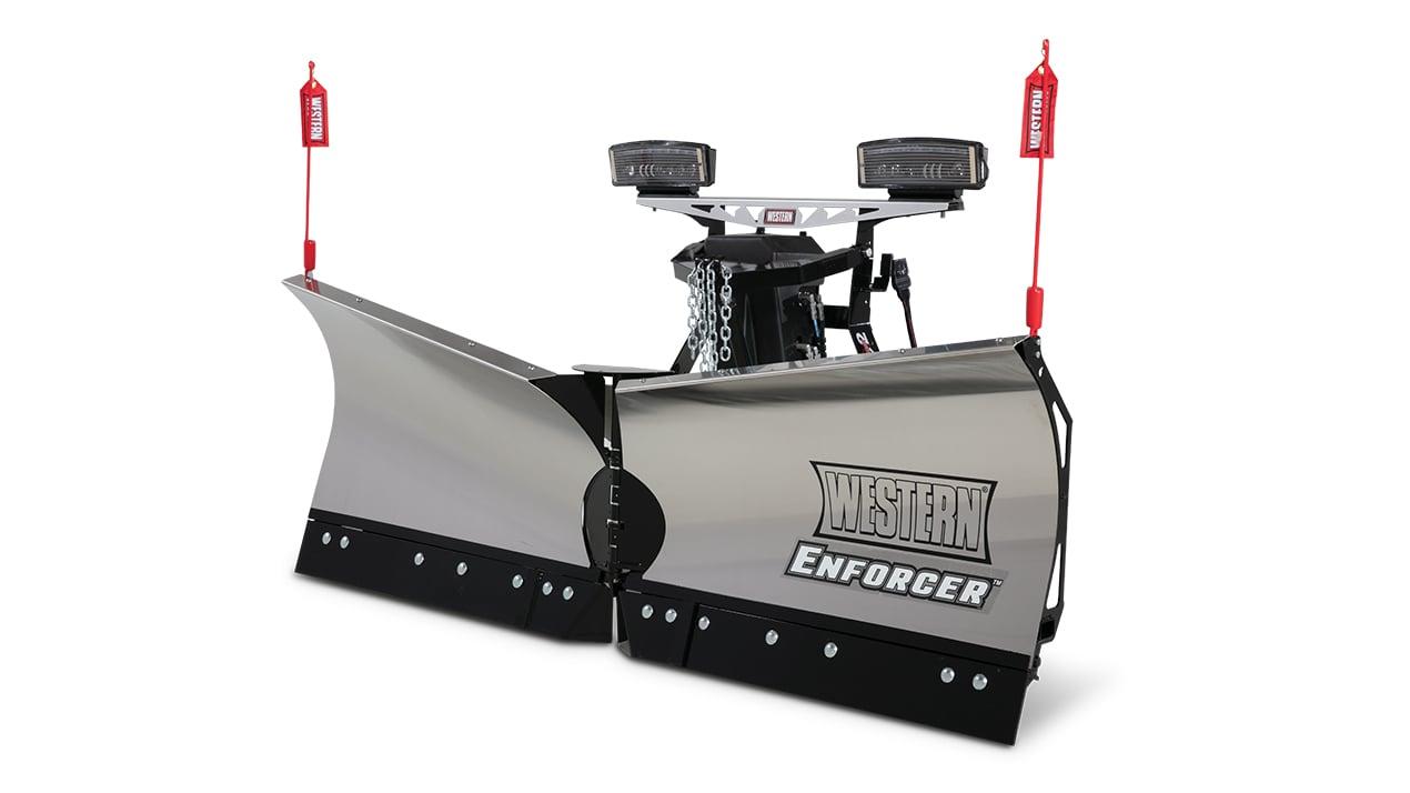 Western ENFORCER™ Stainless Steel V-Plow