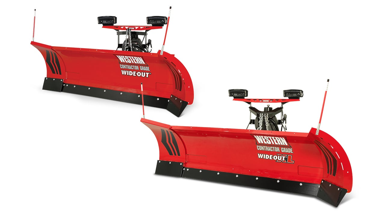Western WIDE-OUT™ AND WIDE-OUT™ XL - PLOW BLADE CONSTRUCTION