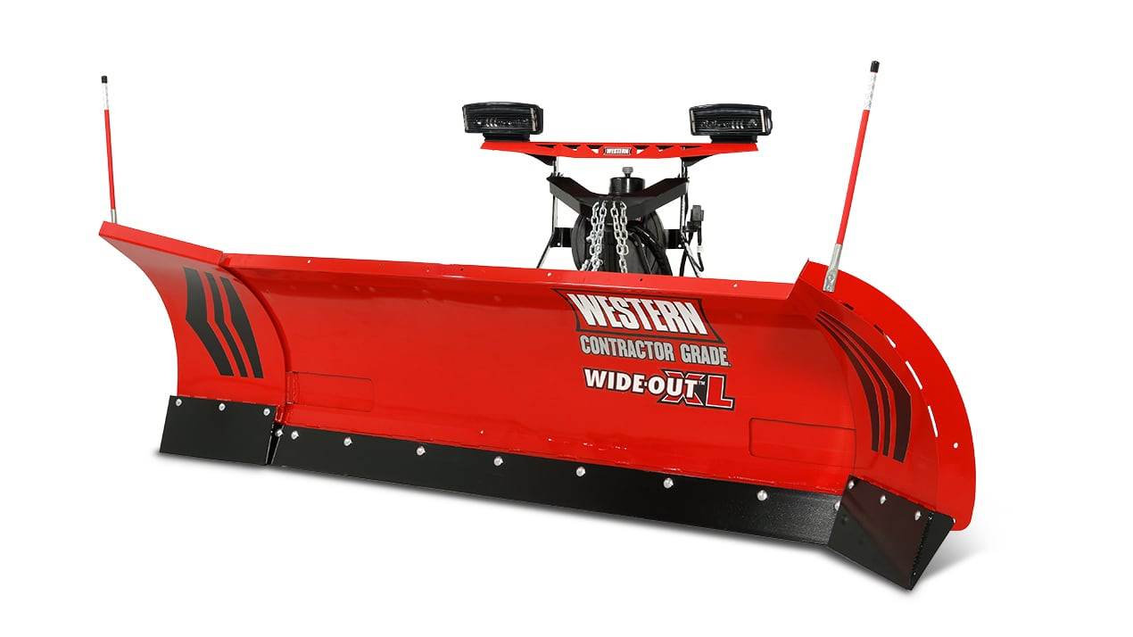 Western WIDE-OUT™ XL Adjustable Wing Plow