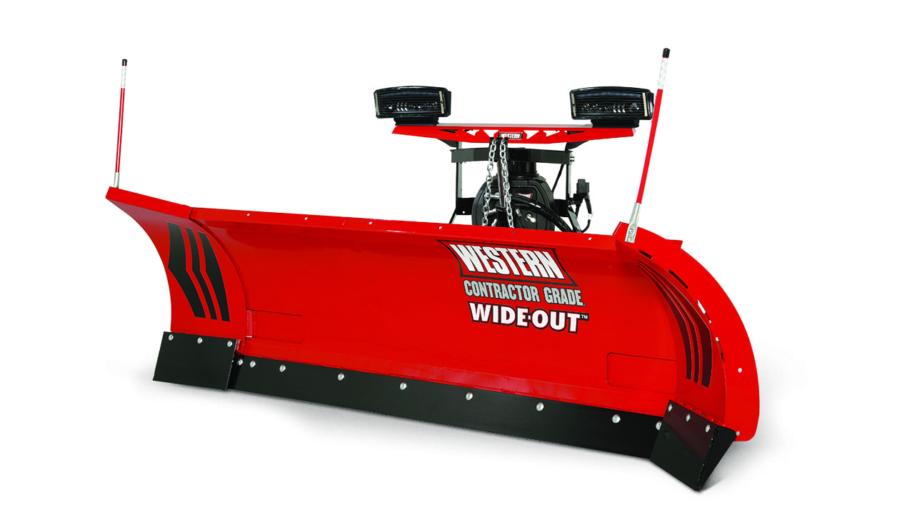 Western WIDE-OUT™ Adjustable Wing Plow