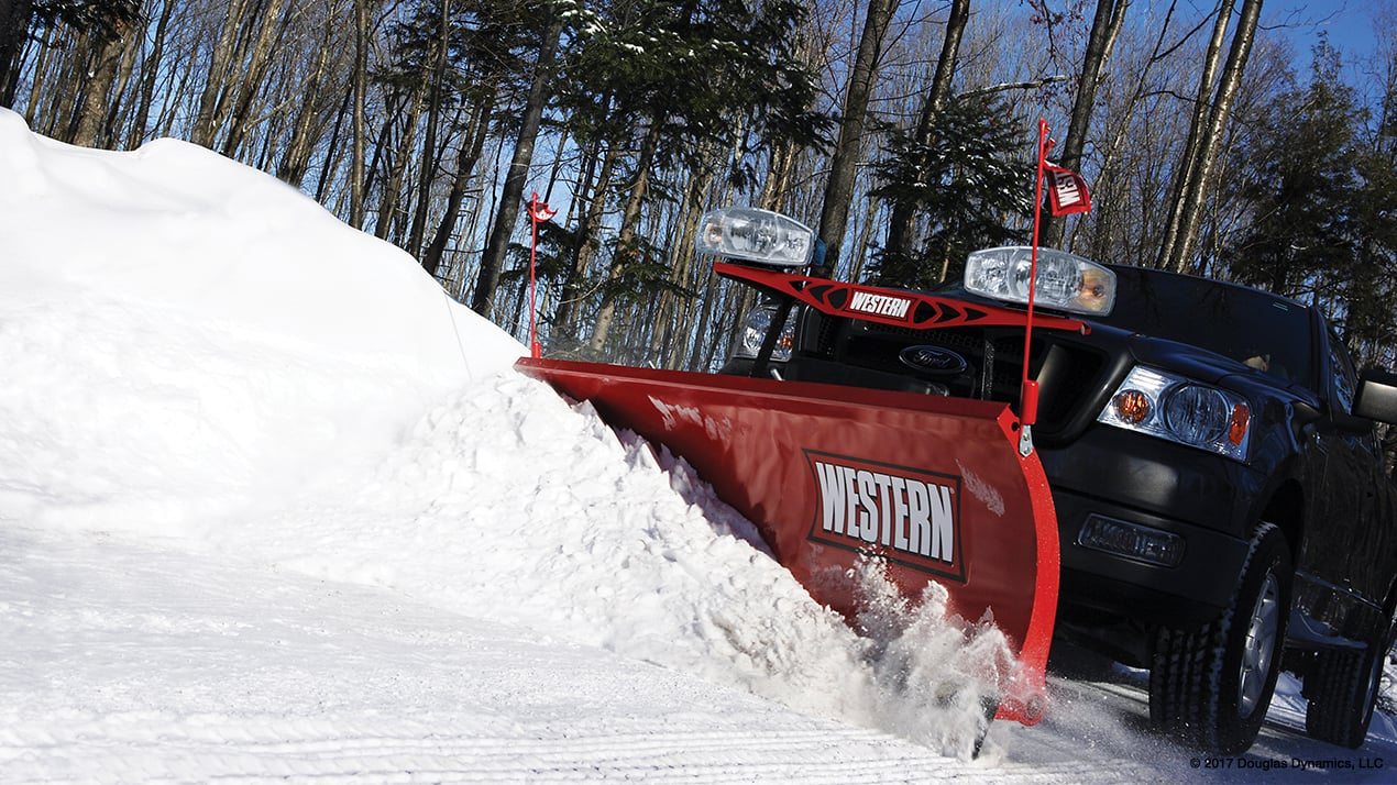 Western HTS™ Half-Ton Snowplow